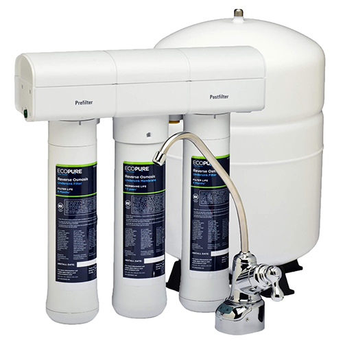 ECOP30 System with Tank and Chrome Faucet