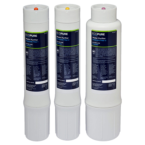 ECOWPF Filters Set of 3